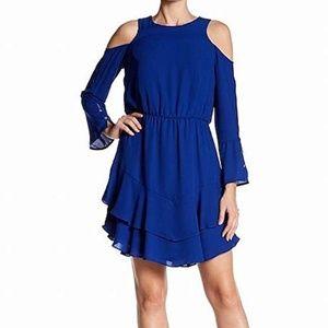 NWT Rachel Rachel Roy Blue Mini Dress Sz 4